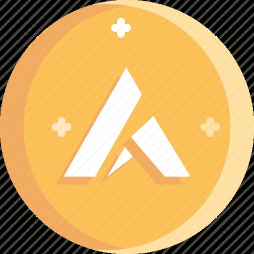 ardor, blockchain, coin, cryptocurrency, ico icon
