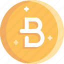 blockchain, bytecoin, coin, cryptocurrency, ico icon
