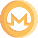 blockchain, coin, cryptocurrency, ico, monero icon