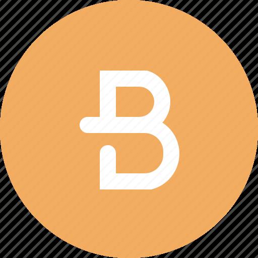 blockchain, bytecoin, crypto, cryptocurrency, ico, wallet icon