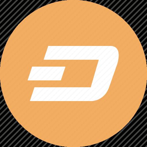 blockchain, crypto, cryptocurrency, dash, ico, wallet icon
