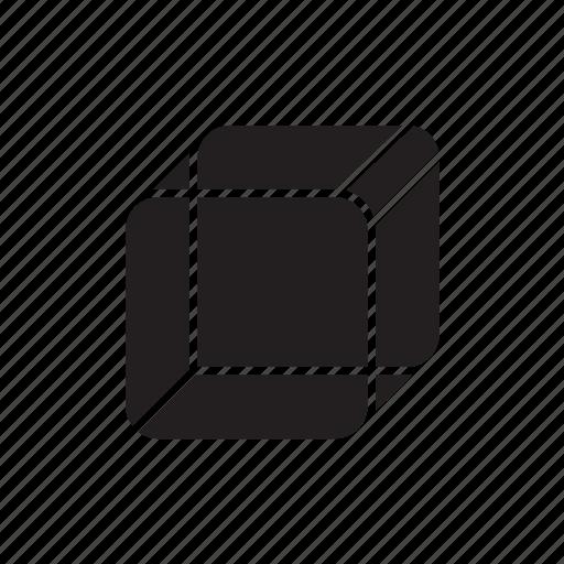 box, cube, cubic, geometric, square icon
