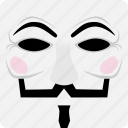 creature, creepy, guyfawkes, halloween, spooky icon