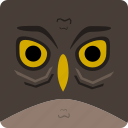 animal, bird, creepy, halloween, horror, owl, scary icon