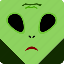 alien, halloween icon