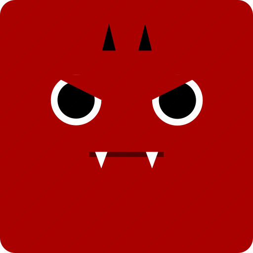 devil, halloween icon