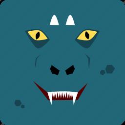 dragon, halloween icon