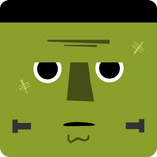 frankenstein, halloween icon