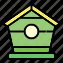 agriculture, bird, farm, house, nature