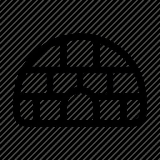 community, culture, house, igloo icon