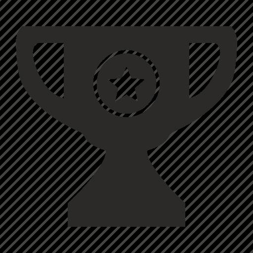 award, cup, star, winner icon