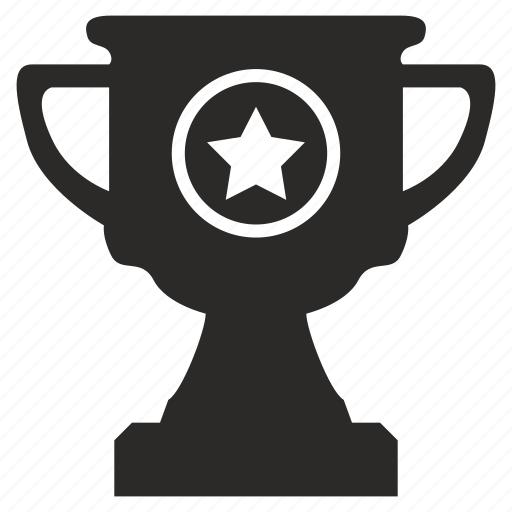 award, cup, favorite, star, winner icon