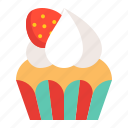 bakery, cake, cupcake, dessert, food, muffin, sweets icon