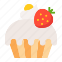 bakery, cake, cupcake, dessert, food, muffin, sweets