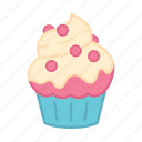 baking, cake, colour, cupcake, decoration, icing, sweets
