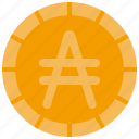austral, coin, money, currency, coins, finance