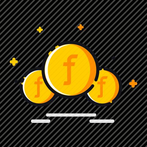 currency, dutch, finance, guilder, gulden, money, sign icon