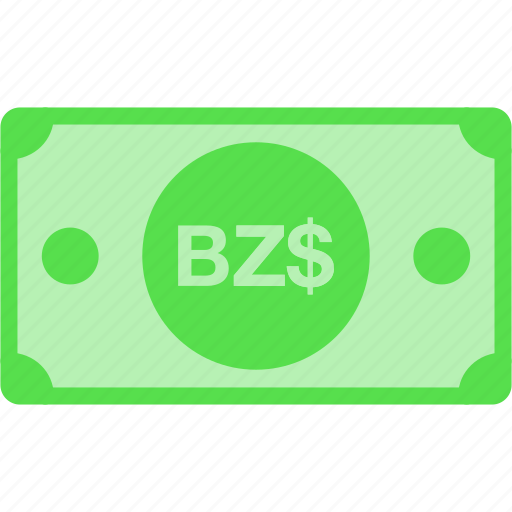 belize, bzd, currency, dollar, money icon