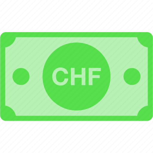 chf, currency, franc, money, price, switzerland icon