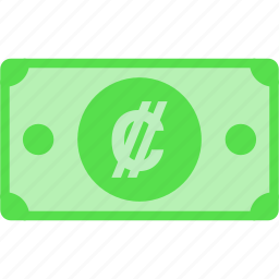 colon, costa, crc, currency, money, price, rica icon
