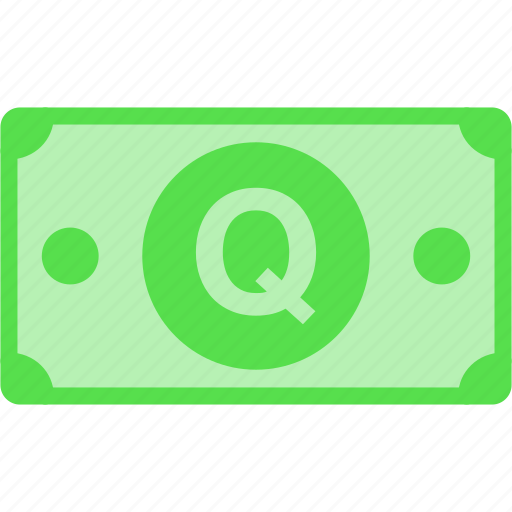 currency, gtq, guatemala, money, price, q, quetzal icon