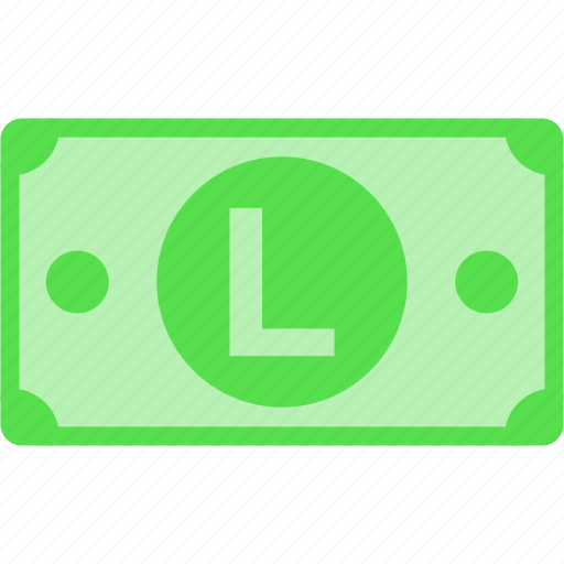 currency, hnl, honduras, l, lempira, money, price icon
