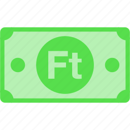 currency, forint, ft, huf, hungary, money, price icon