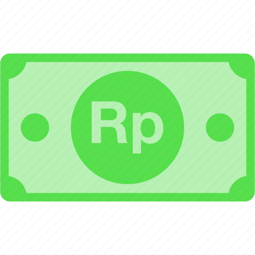 currency, idr, indonesia, money, price, rp, rupiah icon