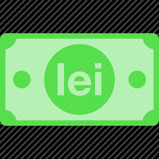 currency, lei, leu, money, new, price, romania, ron icon