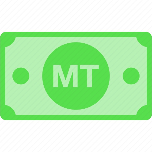 currency, metical, money, mozambique, mt, mzn, price icon