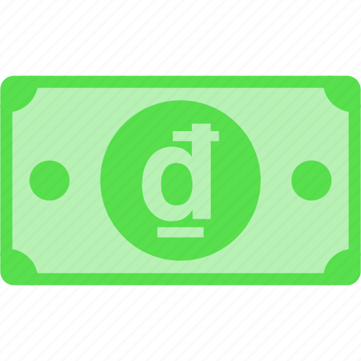 currency, dong, money, nam, price, viet, vnd icon