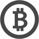 bitcoin, coin, credit, currency, money, payment icon