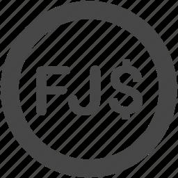 currency, dollar, fiji, fiji dollar, fjd, money icon