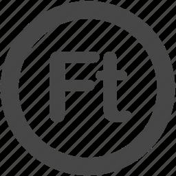 forint, huf, hungarian, hungarian forint, hungary icon