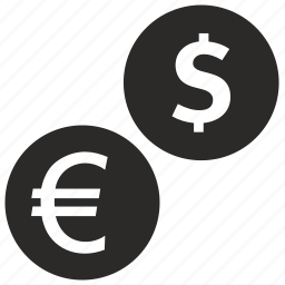 coin, currency, dollar, england, euro, exchange, money icon