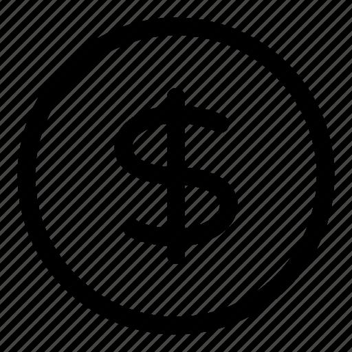 Cash, coin, exchange, finance, money, usd icon - Download on Iconfinder