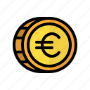 coin, money, euro, cash, currency, finance, business