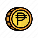 coin, money, peso, cash, currency, finance, business