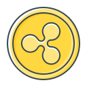 coin, cryptocurrency, ripple, xrp icon