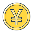 coin, currency, rmb, valuta, yuan icon