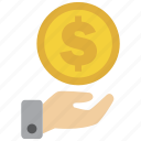 bank, cash, credit, currency, debit, dollar, money icon