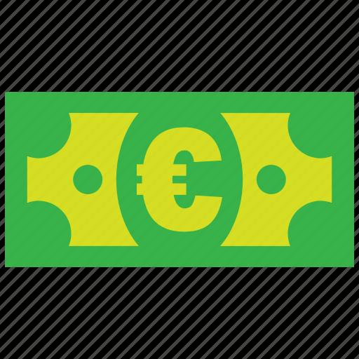 bank, cash, credit, currency, debit, euro, money icon