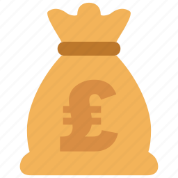 bank, cash, credit, currency, debit, money, pound icon