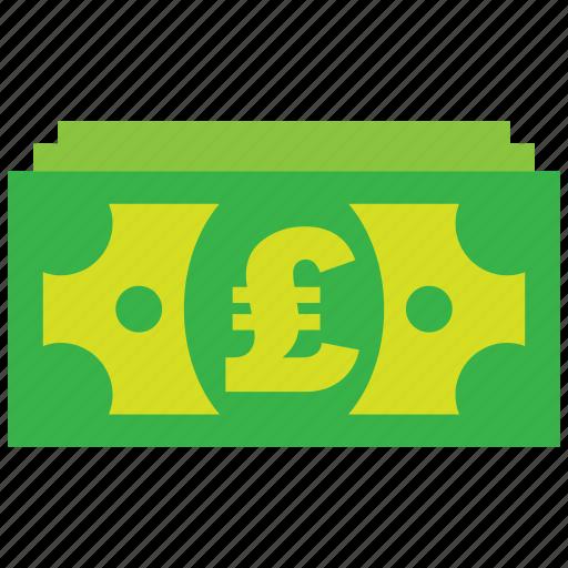 bank, cash, credit, currency, debit, money, pound icon