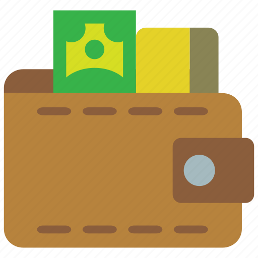card, cash, expense, leather, money, purse, wallet icon