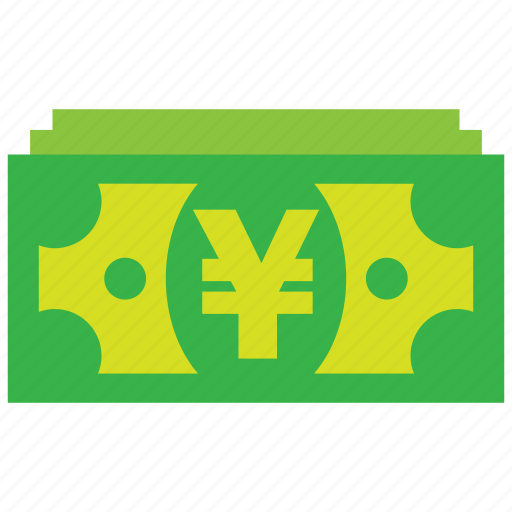 bank, cash, credit, currency, debit, money, yen icon