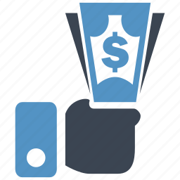banking, cash, credit, currency, debit, dollar, money icon