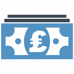 banking, cash, credit, currency, debit, money, pound icon