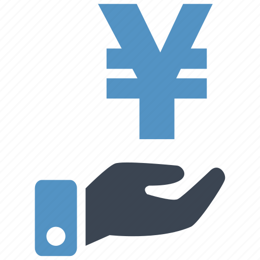 banking, cash, credit, currency, debit, money, yen icon