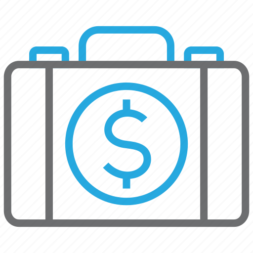 briefcase, business, buy, cash, dollar, pay, payment icon